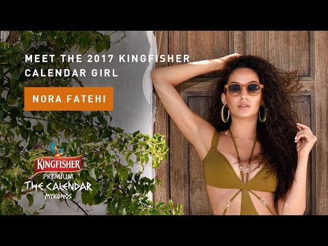 Nora Fatehi Kingfisher 2017 Calender 360deg Video