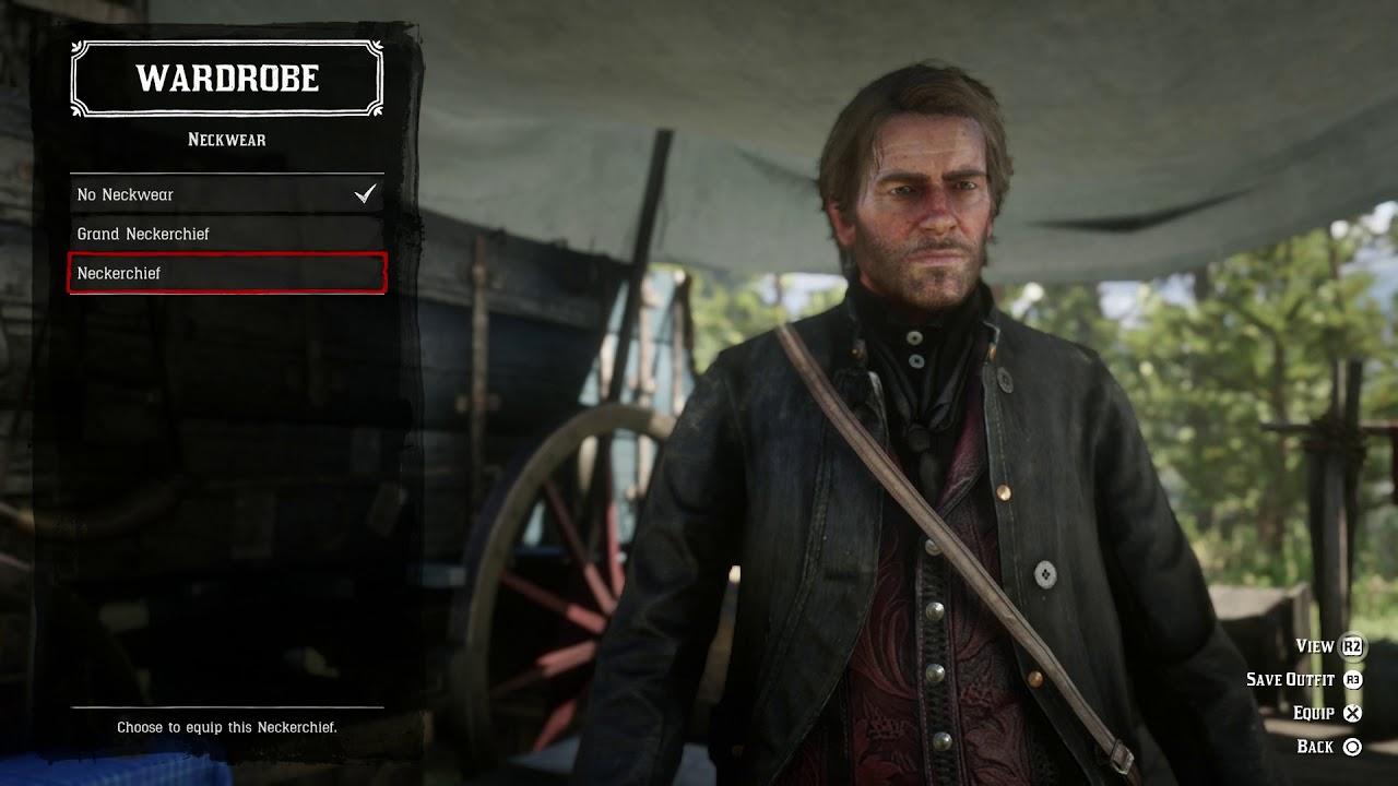 Red Dead Redemption 2 Customize Arthur Morgan Duster Coat Legion