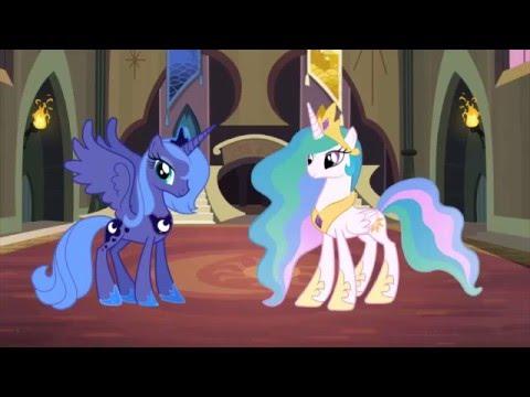 Как Взрослели Принцессы:Селестия И Луна