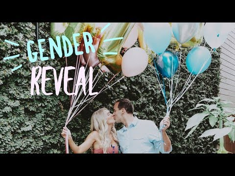 GENDER REVEAL PARTY!!!!!!!!