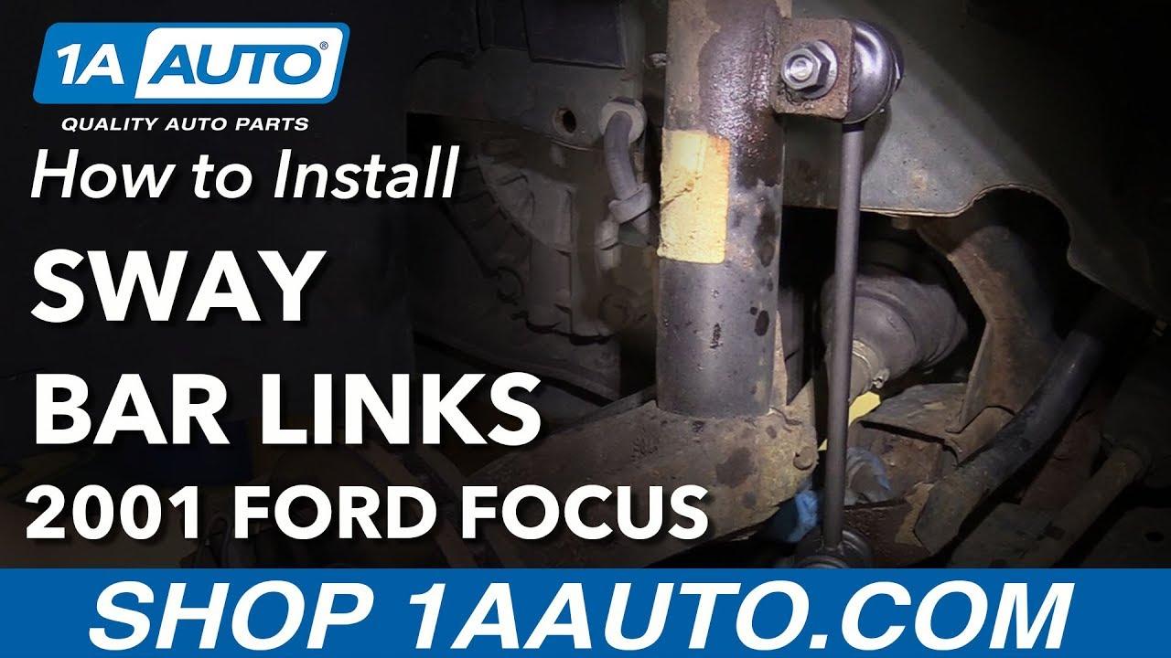 Set of 2 Rear Suspension Stabilizer Bar Link fits 2012 Ford Focus