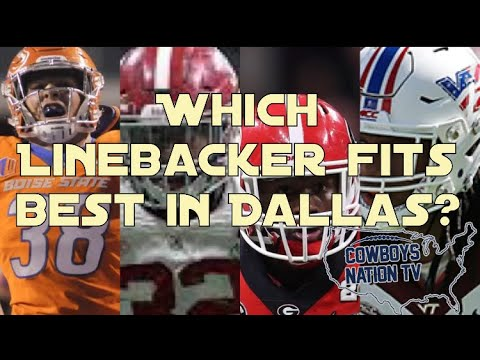 Rating top Linebackers in the Draft| Who Fits in Dallas?
