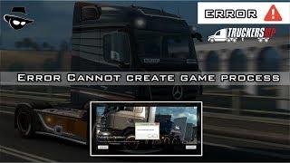 خطأ لا يمكن إنشاء لعبة عملية | TruckersMP [ES][EN][BR]