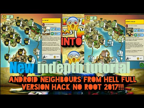 How To Hack Neighbours From Hell Android 2017 (unlock All Levels