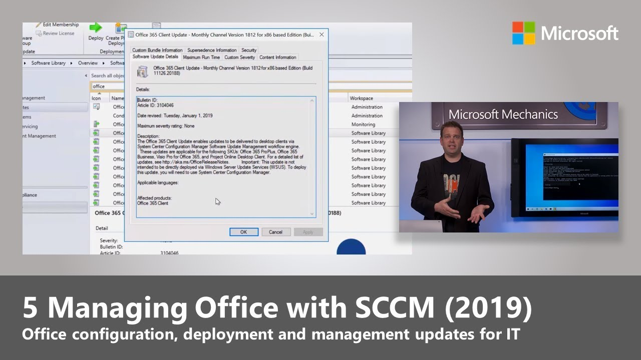 Managing Office with SCCM (2019)