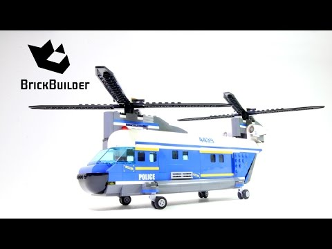 Lego City 4439 Heavy-Lift Helicopter - Lego Speed Build - YouTube