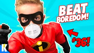 40 Ways to Beat Boredom: Gear Tests, Family Games and More! KidCity