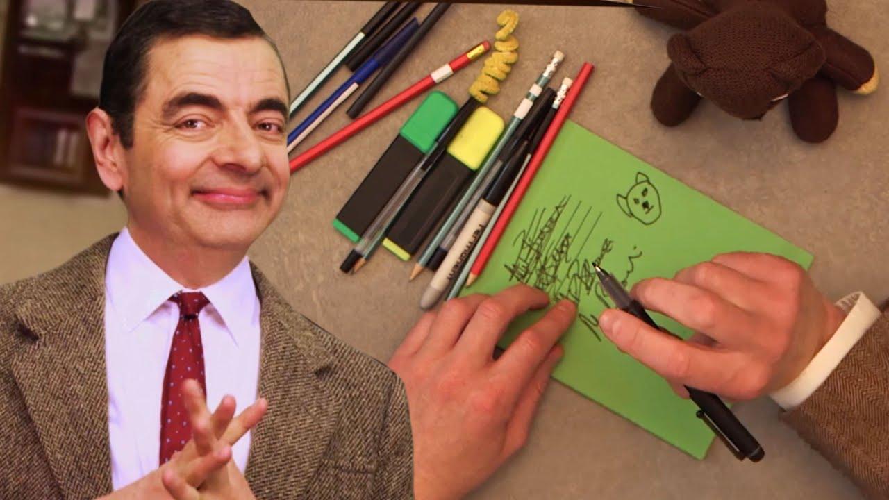 Back To School! | Handy Bean | Mr Bean Official