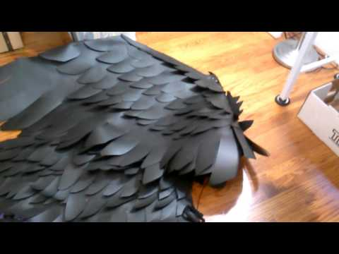 WiP Wednesdays - How to make lightweight LARP and cosplay wings