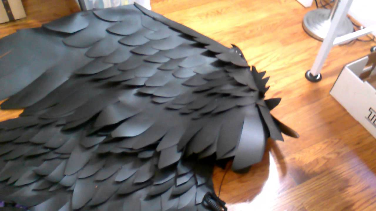 Wip wednesdays how to make lightweight larp and cosplay wings wip wednesdays how to make lightweight larp and cosplay wings youtube solutioingenieria Image collections