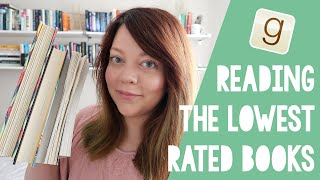 READING THE LOWEST RATED BOOKS ON MY TBR