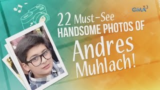 22 Must-see handsome photos of Andres Muhlach