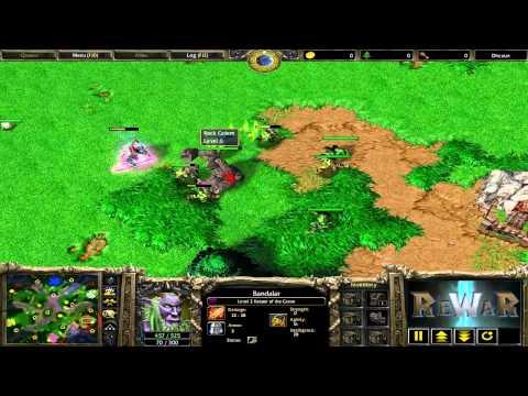 TeD(UD) Fly(ORC) Vs 天天来搞你(NE) 完颜啊骨打(ORC) - Game 5 - WarCraft 3 Gameplay - RN1675