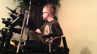 jaxon smith smashing pumpkins 6 yr old self taught drummer
