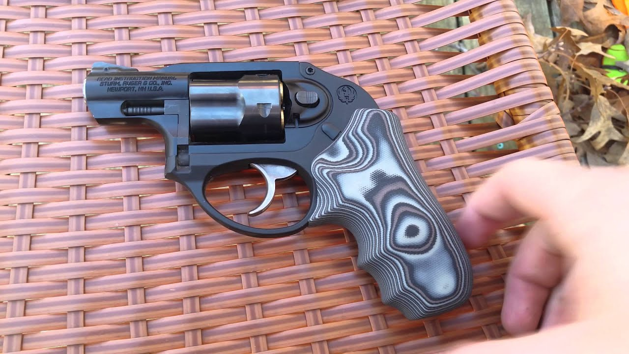 hogue g10 grips ruger lcr youtube