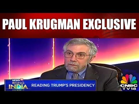 Paul Krugman Exclusive | Reading Trump's Presidency | CNBC TV18