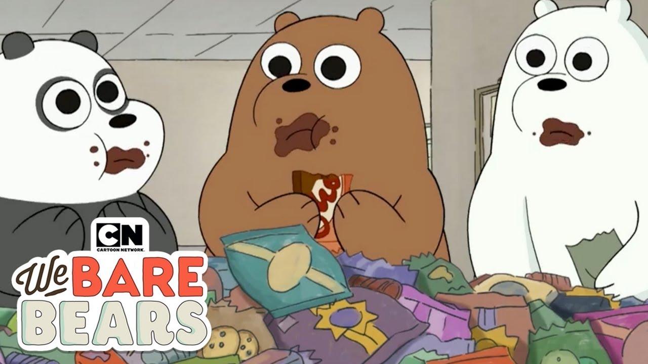 We Bare Bears Wacky Moments Hindi Cartoon Network Youtube