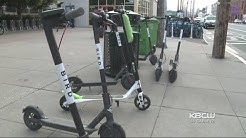 San Francisco Struggles To Adjust To Electric Scooter Sharing