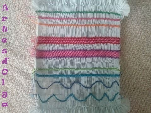 Hand Embroidery Basic Smocking Stitches Part 1 Artesdolga