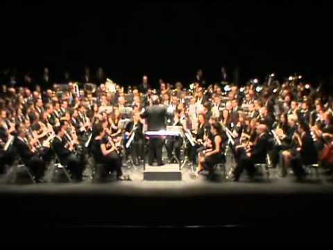 Concierto 20 Aniversario Banda Conservatorio Albacete - West Side Story