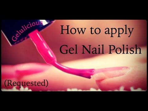 How To Apply Gel Nail Polish Basics