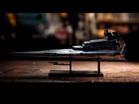 Building the 1/5000 Star Destroyer Model Kit! (Part 2)