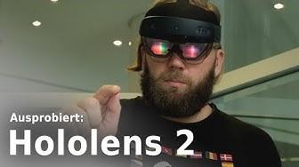 Microsoft Hololens 2 im Test | Ausprobiert