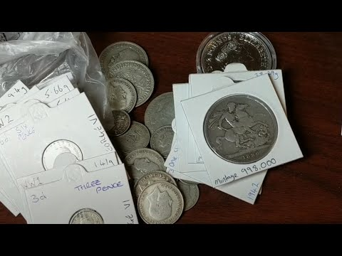 A load of old English junk silver!  Trade with Ag D.  Cool Beans & US junk silver headed to the UK!