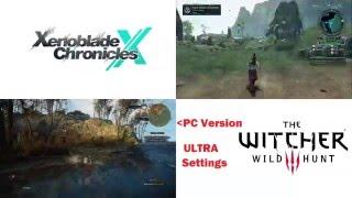 Graphics Comparison Part 2: Xenoblade X vs. Witcher 3 PC