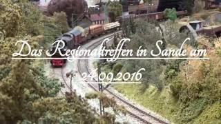 Das Spur 0 Regionaltreffen in Sande 2016
