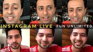 Armaan Malik Instagram Live With Salim Merchant Next Project & Fun Unlimited SLV 2019