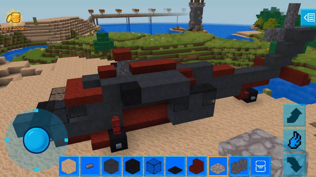 Helicopter building    like Minecraft gameplays    How to build a Helicopter in Minecraft?