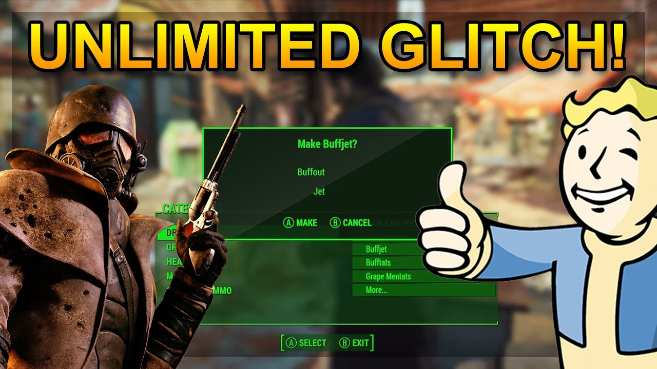 Fallout 4 patch for caps glitch