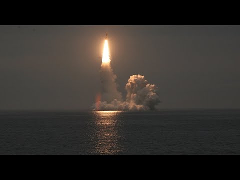 MESSAGE TO THE WEST: Russia's Yury Dolgoruky Submarine Successfully Test-Fires Bulava ICBM