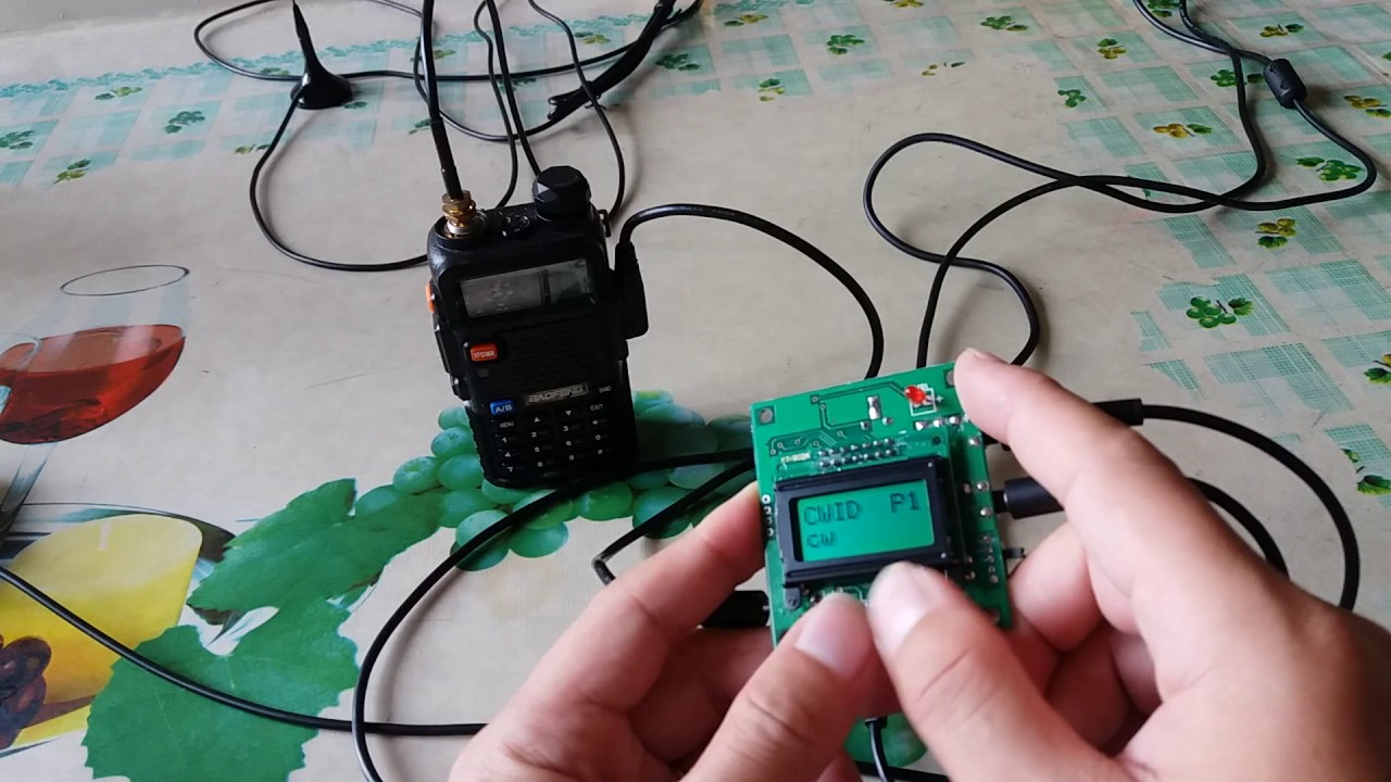 INNOTEK RT-CWID48 Morse Code ID Keyer Module For RT-DRC2 Motorola Radio DIY
