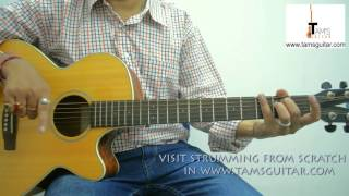 Prithibi ta naki /Bheegi Bheegi guitar lesson (www.tamsguitar)