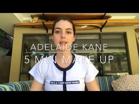 Aussie 5 Min MakeUp  Adelaide Kane