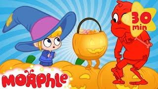 Halloween Pumpkins - My Magic Pet Morphle | Cartoons For Kids | Morphle TV | Mila and Morphle