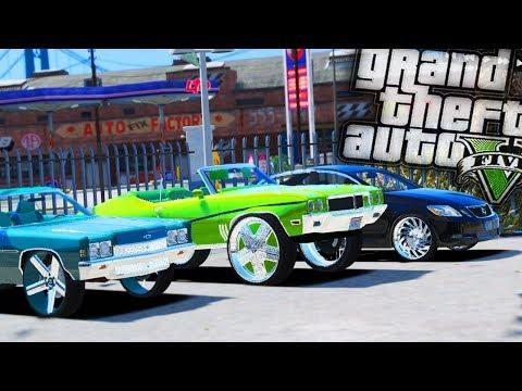 Starting a Donk Car Dealership! - GTA 5 Real Hood Life - Day 56