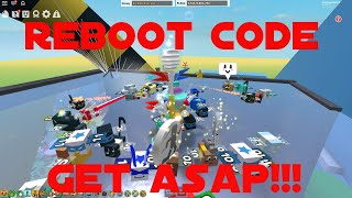 CODE REBOOTDE!!! GET dès que possible!!! ROBLOX BEE SWARM SIMULATOR!!! #135