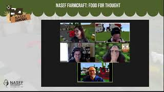 NASEF Farmcraft™ 2021   Bi weekly Live Stream + Food for Thought with Dr Kate Brauman