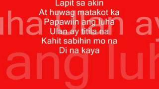 YENG CONSTANTINO - LAPIT with LYRICS
