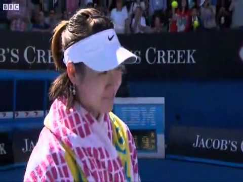 Li Na Interview in the Australian Open 2011