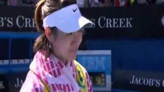Li Na Interview in the Australian Open 2011