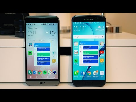 LG G5 vs Samsung Galaxy S7 edge and S7