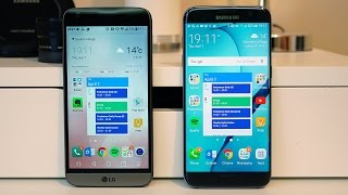 LG G5 vs Samsung Galaxy S7 edge and S7 | Pocketnow