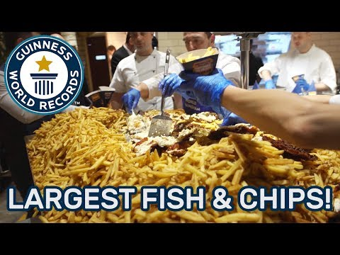Largest Fish and Chips – Guinness World Records