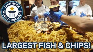 Largest Fish and Chips - Guinness World Records