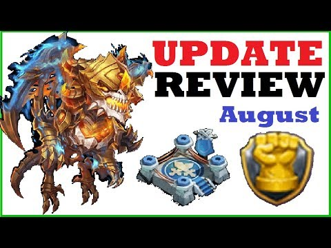 What Do I Think About SKELETICA And FAME ARENA August UPDATE REVIEW Castle Clash