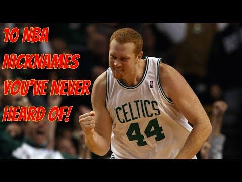 10 NBA Nicknames You've Never Heard Of!